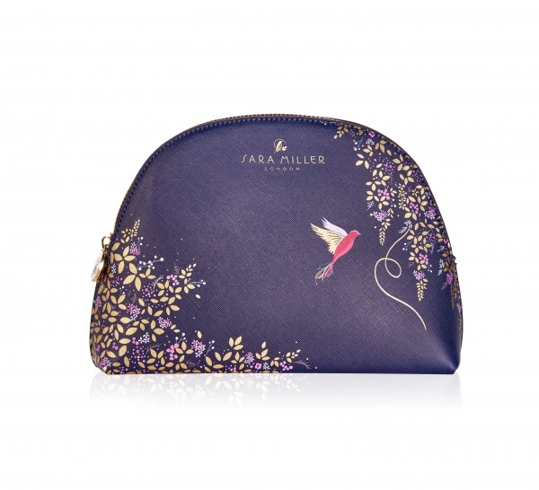 SARA MILLER CHELSEA, Medium Cosmetic Bag (Navy)