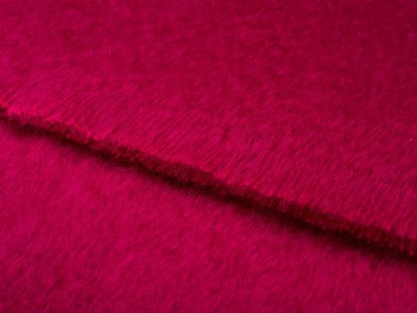Mohair-Decke, Fuschia Red 135 x 180 cm