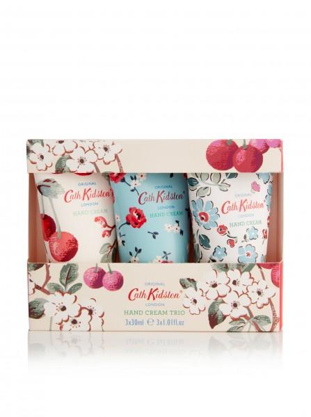 Hand Cream Trio 3x30ml, Mini Cherry Sprig