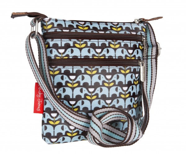 Mini Crossbody Bag, ELEPHANTS