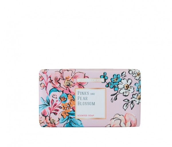 PINKS & PEAR BLOSSOM, Scented Soap 240g
