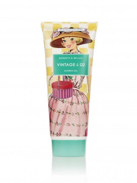Shower Gel 200ml, Vintage Bonnets & Belles