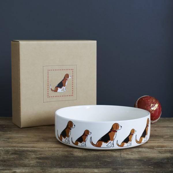 Hunde-Fressnapf-groß mit Geschenkkarton - verschiedene Designs
