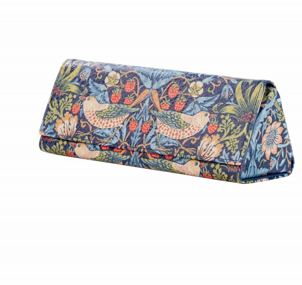 Glasses Case, Morris & Co. Strwarberry Thief