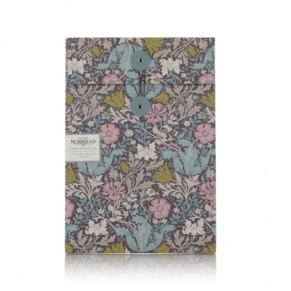 MORRIS & CO. PINK CLAY & HONEYSUCKLE, 6 Scented Drawer Liners