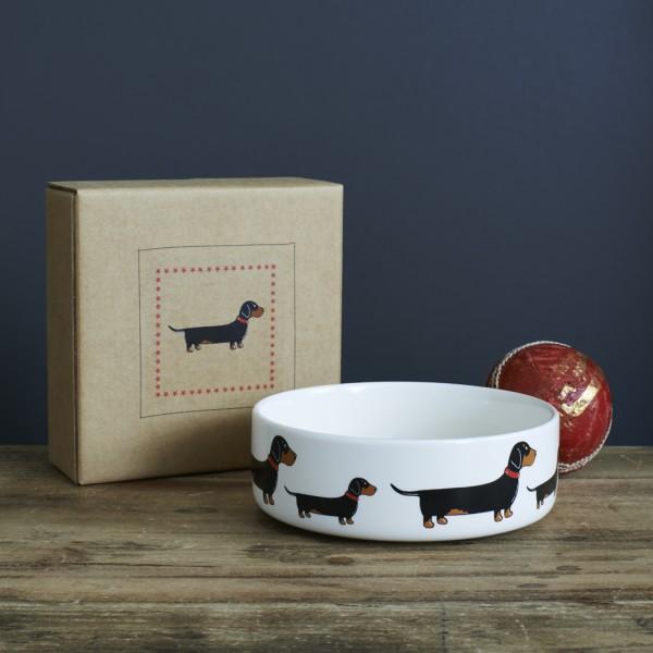Hunde-Fressnapf-klein mit Geschenkkarton - verschiedene Designs