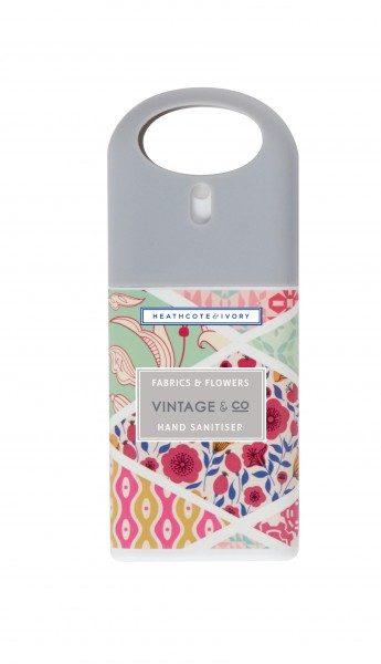 VINTAGE FABRIC & FLOWERS, Hand Sanitiser 20ml, Vintage Fabric & Flowers -z.Zt.ausverkauft-