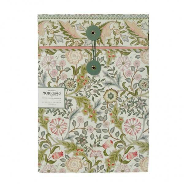 MORRIS & CO. JASMINE & GREEN TEA , Scented Drawer Liners (5 Sheets)