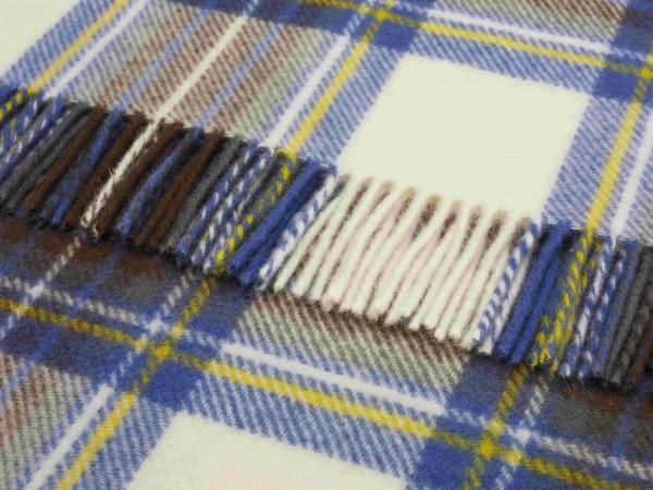 Kniedecke - Tartan Knee Rugs, Muted Blue Stewart, 140 x 90 cm