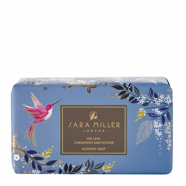 SARA MILLER, 240g Scented Soap (Blue)