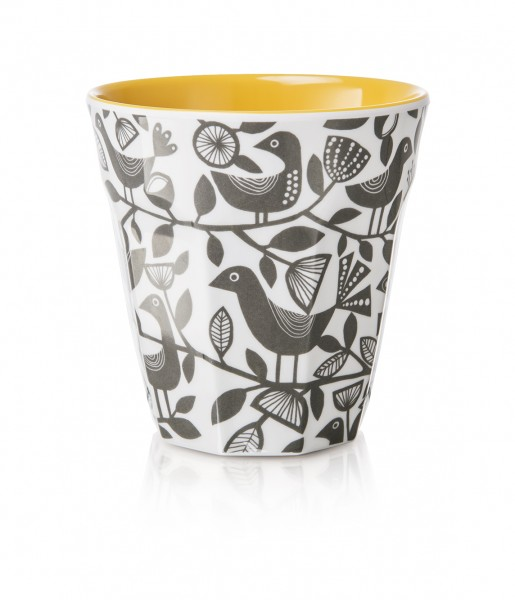 Melamine Beaker/Becher, DOVES GREY
