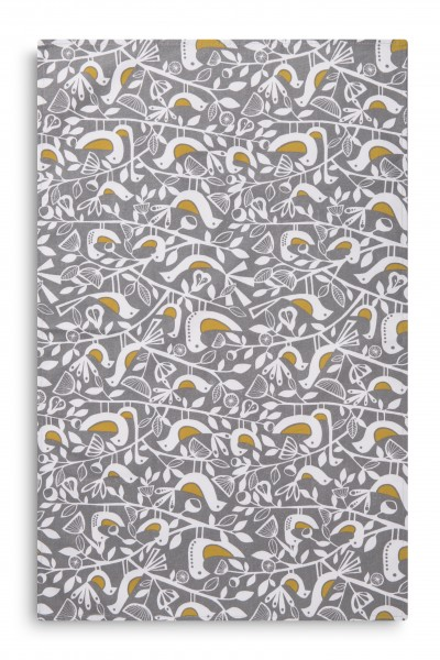 TEA TOWEL, Doves Grey