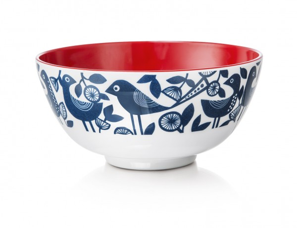 Melamine Bowl, DOVES BLUE