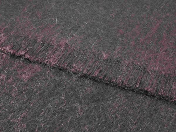 Mohair-Decke, Plum 135 x 180 cm
