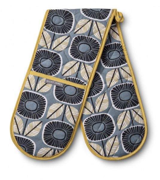 DOUBLE OVEN GLOVE, Sunflower