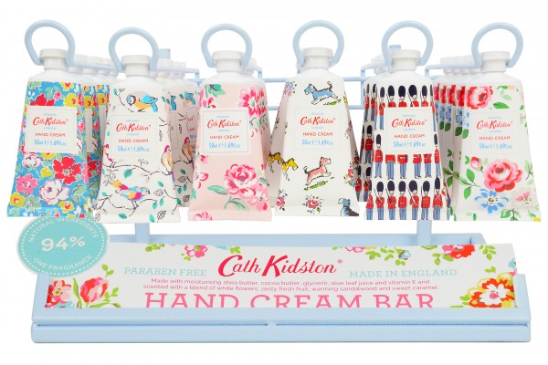 Hand Cream Bar, Display for 36 tubes + 3 Free 50ml Tester Tubes (Erstbestellung)