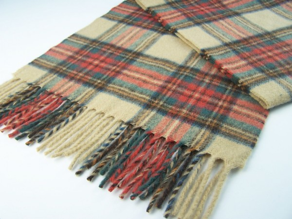 Kniedecke - Tartan Knee Rugs, Antique Dress Stewart, 140 x 90 cm