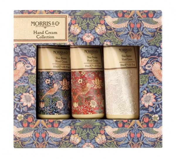 Hand Cream Collection 3 x 30ml, Morris & Co. Strawberry Thief