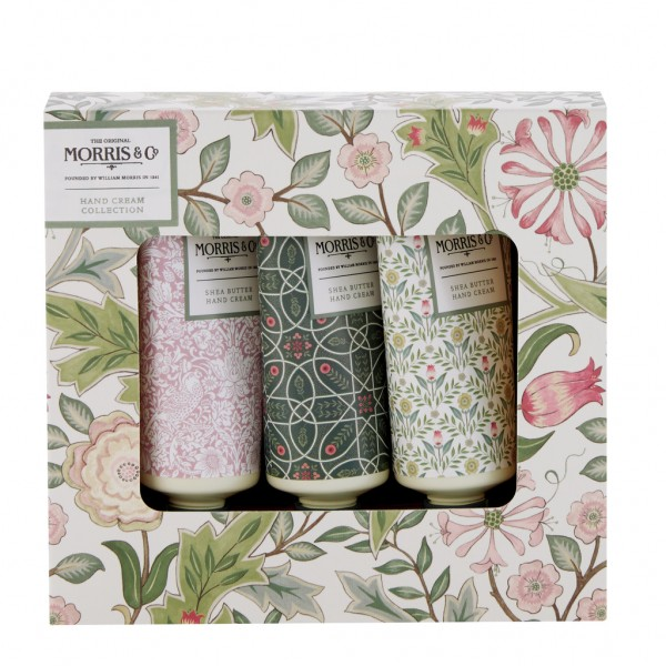 MORRIS & CO. JASMINE & GREEN TEA , Hand Cream Collection (3 x 30ml)