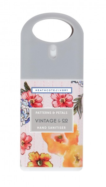 VINTAGE PATTERNS & PETALS, Hand Sanitiser 20ml