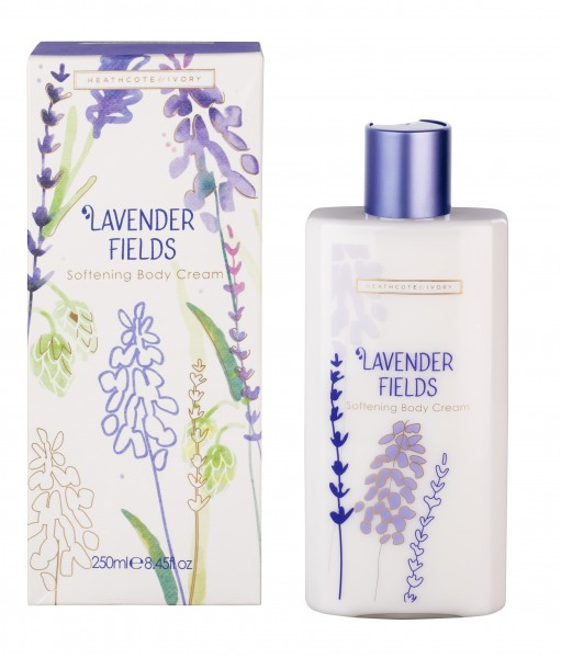 Softening Body Cream 250ml, Lavender Fields