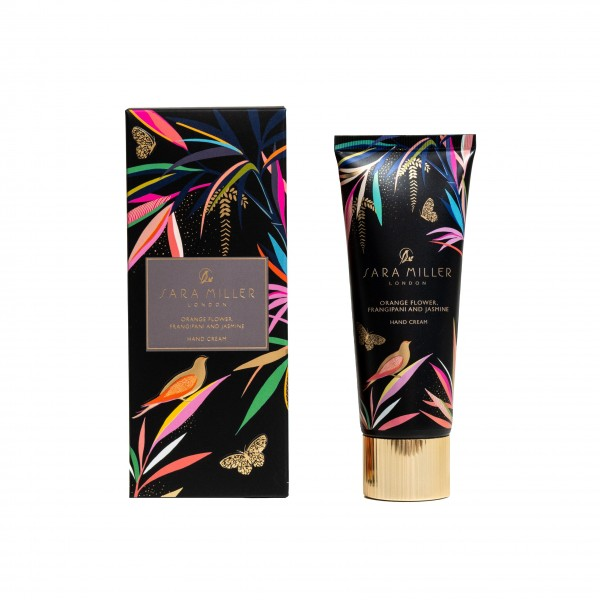 SARA MILLER BAMBOO, Hand Cream 75ml (black)