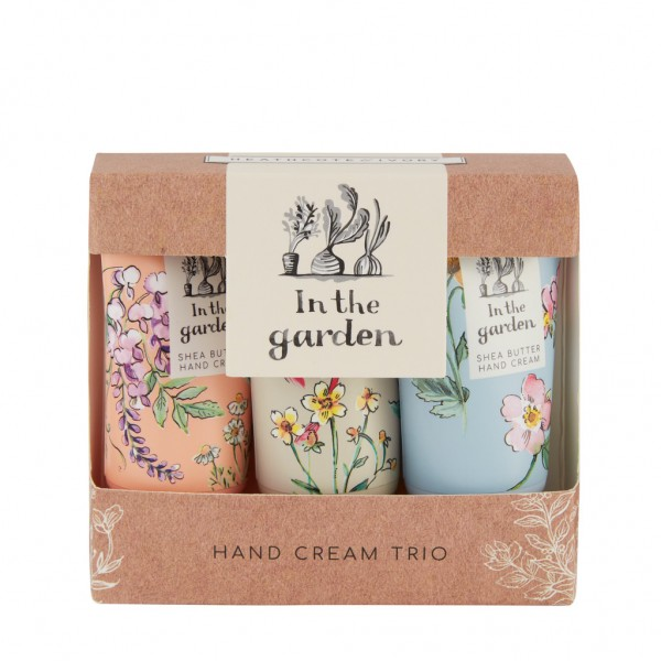IN THE GARDEN, Hand Cream Trio 3x30ml