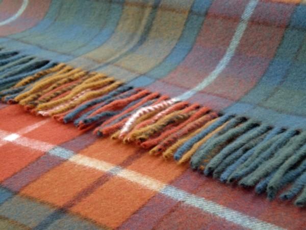 Decke - Tartan, Buchanan, 140 x 185 cm