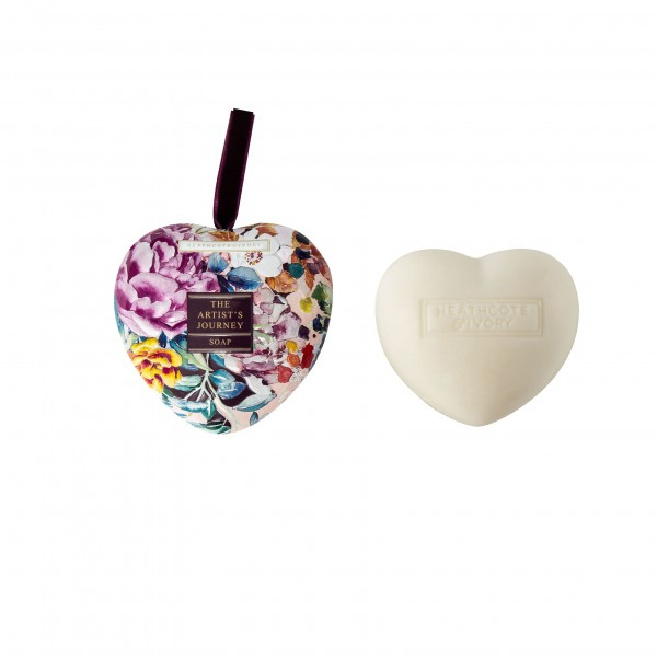 Heart Soap in Tin 90g , The Artist Journey
