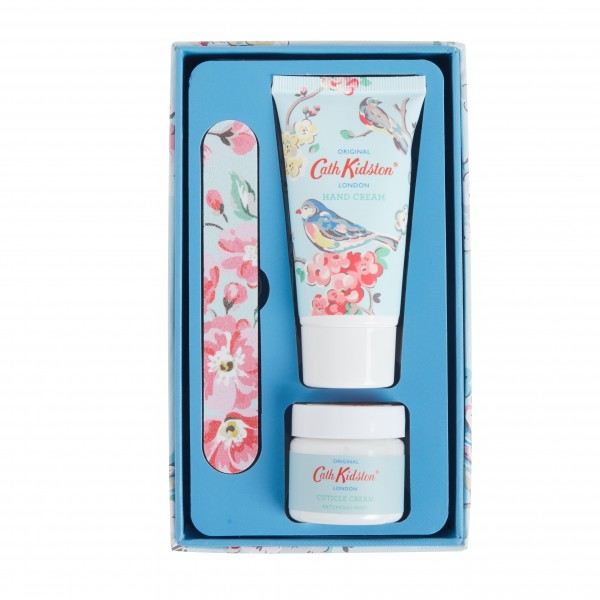 Manicure Set, Blossom Birds-Apple Blossom & Elderflower (BLUE)