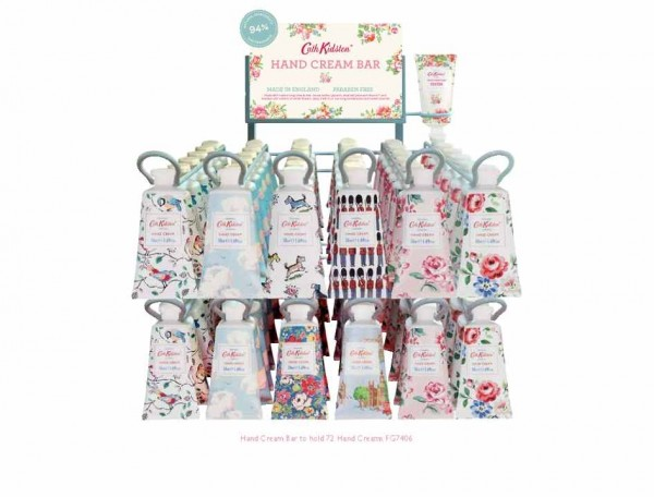 Hand Cream Bar, Display for 72 tubes + 3 Free 50ml Tester Tubes (Erstbestellung)