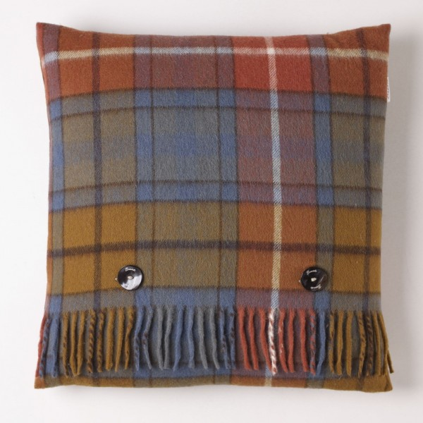 Merino-Kissen - TARTAN Antique Buchanan, 40 x 40 cm