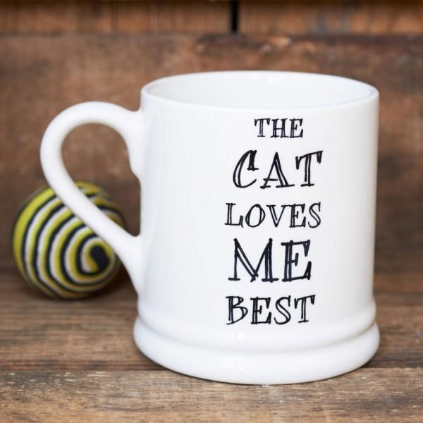 Mutts & Moggies Mugs, Porzellantasse mit Slogan - verschiedene Designs