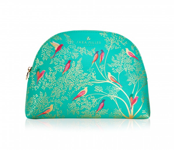 Large Cosmetic Bag, Sara Miller-green